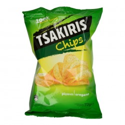 CHIPS WITH OREGANO TSAKIRIS...