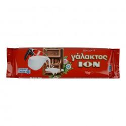 MILK CHOCOLATE ION 70G