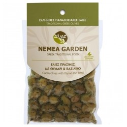 GREEN OLIVES WITH THYME &...